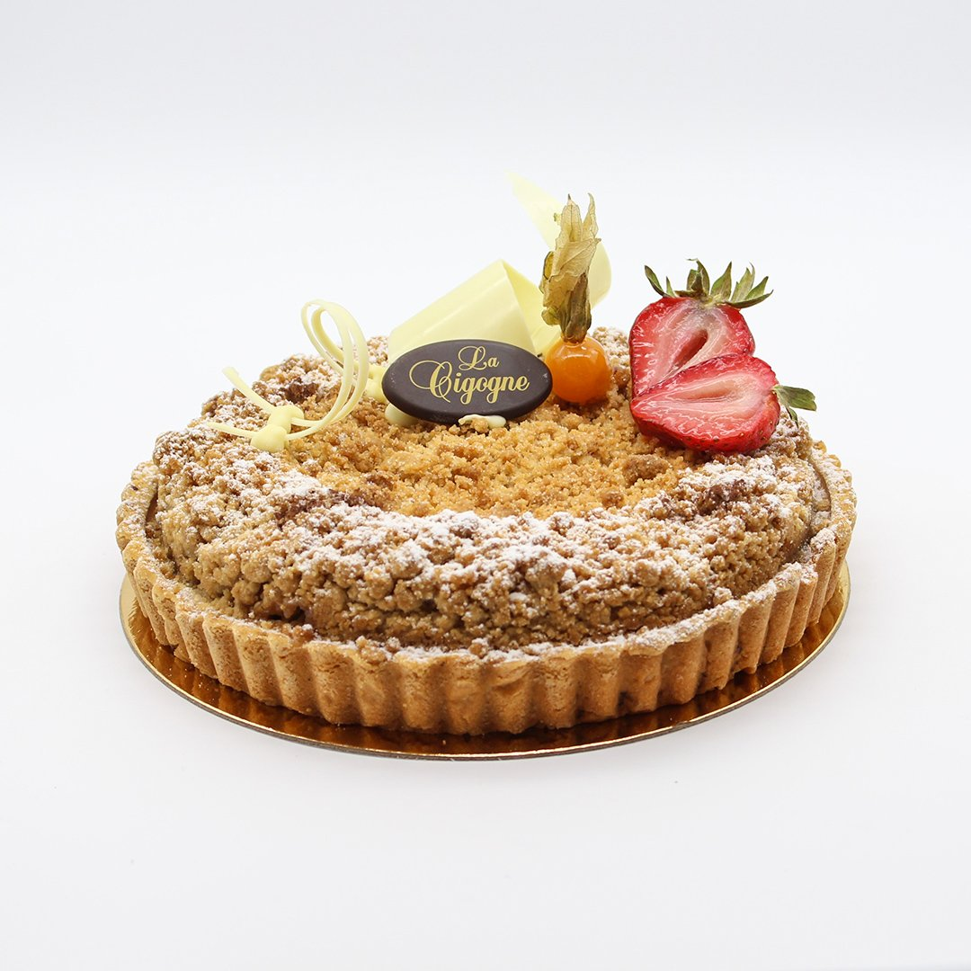 Patisserie La Cigogne Apple Streussel Pie