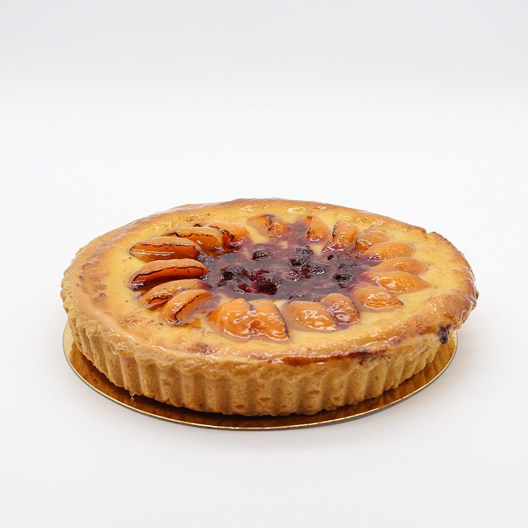 Patisserie La Cigogne Apricot Almond Pie