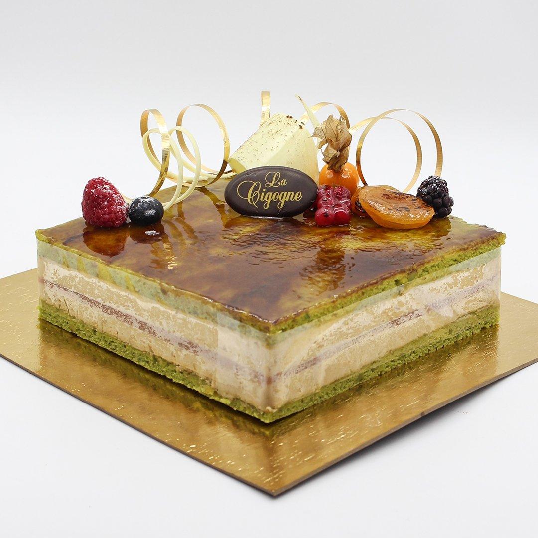 Patisserie La Cigogne Bacarra Cake