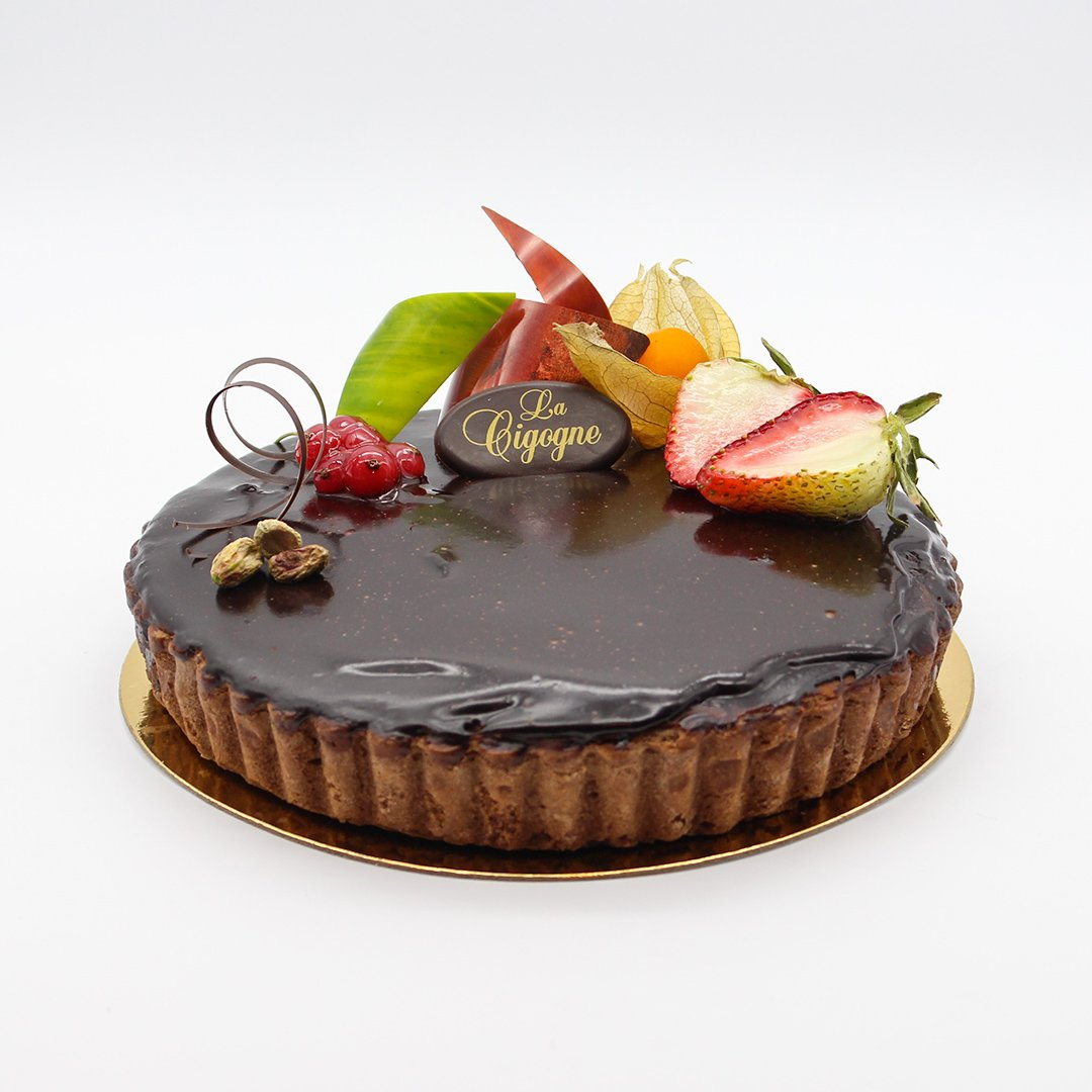 Patisserie La Cigogne Chocolate Pie