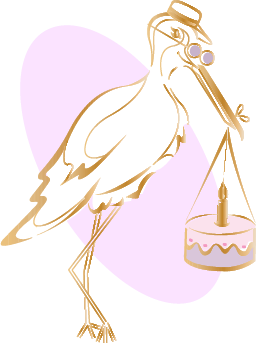 Patisserie La Cigogne Logo