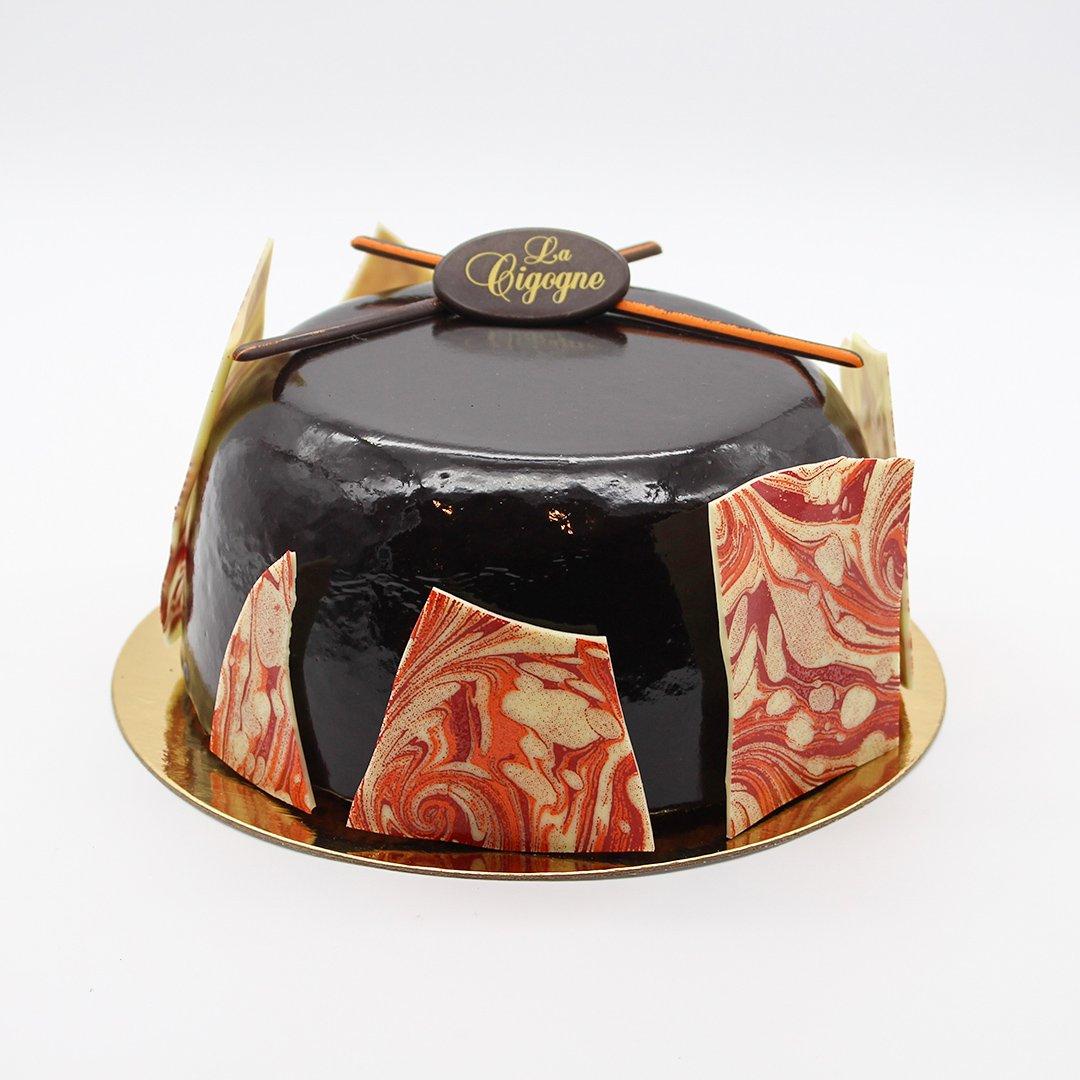 Patisserie La Cigogne Louis Xiv Cake