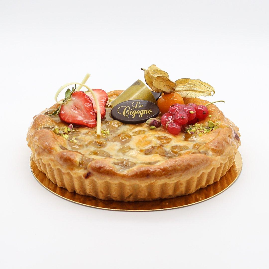 Patisserie La Cigogne Mirabelle Flan Pie