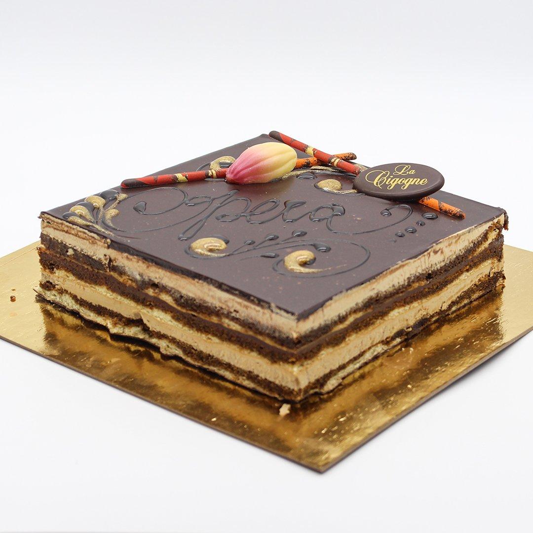 Patisserie La Cigogne Opera Cake