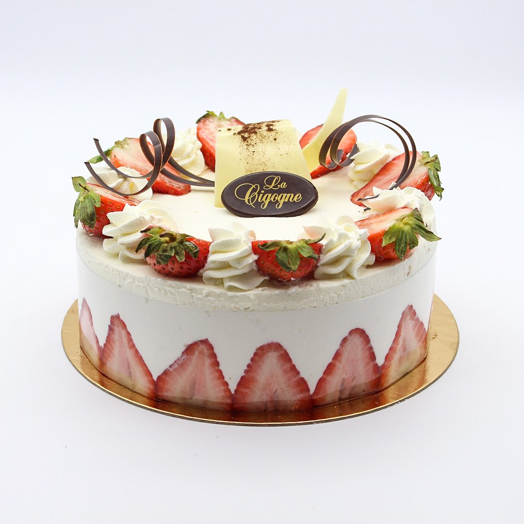 Patisserie La Cigogne Strawberry Short Cake