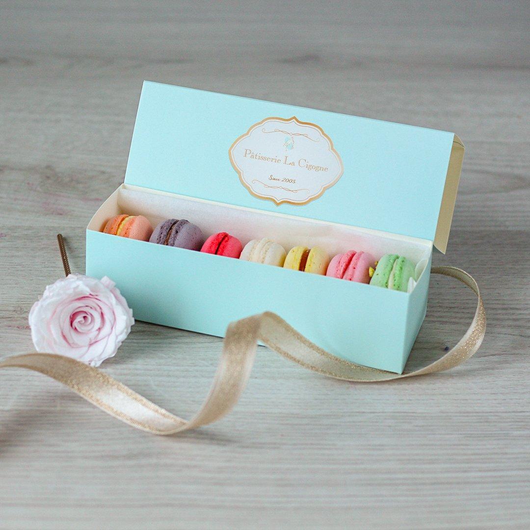 Patisserie La Cigogne Blue Gift Box