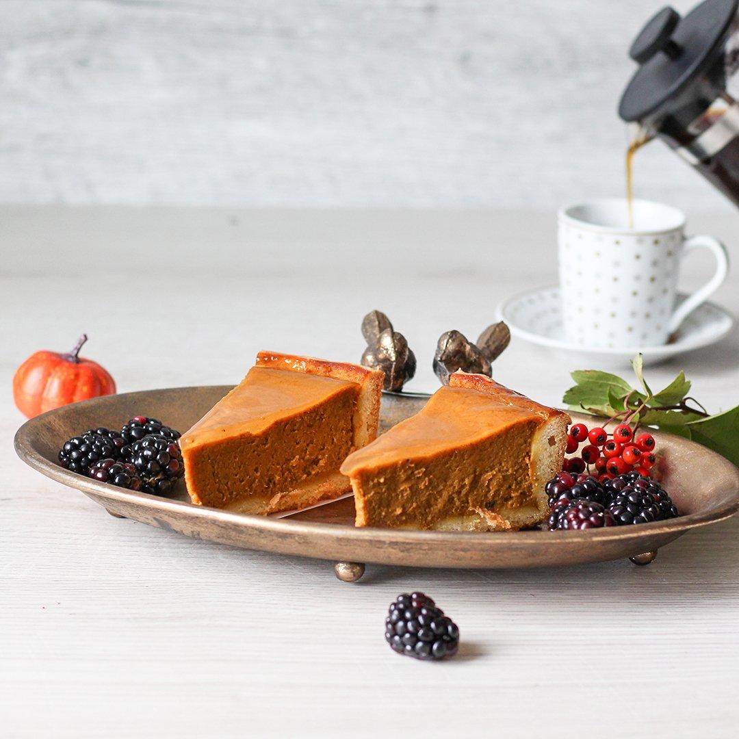 Patisserie La Cigogne Individual Slice Of Pumpkin Pie